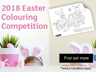 2018 Easter Colouring Competition
